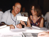 1990s Arnold Amber with Lise Lareau at CWA Convention