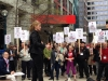 cmg-rally-for-cbc-carmel-CMG rally for CBC, Toronto, May 14, 2014-to-marchers-3
