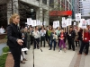 CMG rally for CBC, Toronto, May 14, 2014
