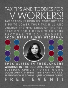 Factual TV - tax tips image