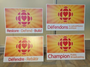 Champion Public Broadcasting Signs