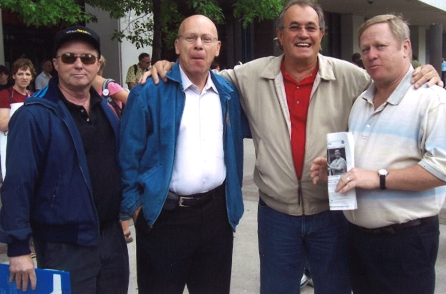 2005 Lockout - Arnold Amber with Buzz Hargrove, Terry Walker, Dan Oldfield