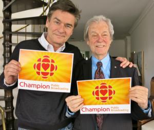 Peter Keleghan et Gordon Pinsent à Toronto